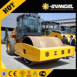 Rouleau de route vibratoire de tambour simple mécanique de 16 tonnes