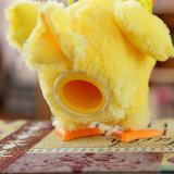 빛 건강한 음악을%s 가진 계란 전기 견면 벨벳 미친 닭을 놓는 장난감 인형
