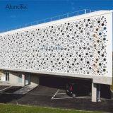 アルミニウム壁パネルの装飾的な金属は芸術スクリーンにパネルをはめる