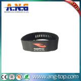 13.56MHz Wristband esperto do silicone RFID para o clube de aptidão