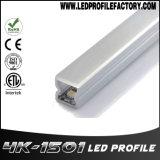 Espulsione di alluminio chiara lineare di Alp025 LED per l'indicatore luminoso del Governo