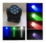 7*12W Osram 4in1 LEDのストロボの効果のビーム洗浄移動ヘッドライト