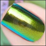 Poudre de vernis à ongles de gel de manucure de Multichrome de caméléon