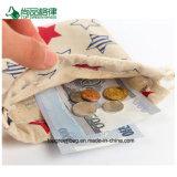 صنع وفقا لطلب الزّبون نمط رخيصة [رسكلبل] يطبع بيضاء تكّة صغيرة [كتّون فبريك] حقيبة