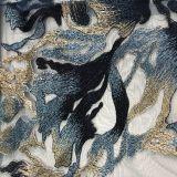 Вышивку шнурка с камнями типа Elie Saab Silk пряжи и перлу можно добавить