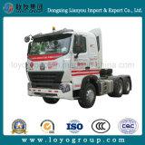 使用されたトラックのSinotruk HOWO-A7 371HP 420HP 6X4のトラクターのトラック