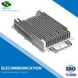 Il materiale di alluminio personalizzato ha fatto il termine di telecomunicazione