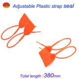 Sello inalterable del envase de plástico de las fuertes medidas de seguridad del tirón