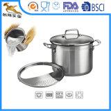 Colador del Cookware del acero inoxidable para sus muestras libres de la cocina