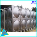 Soudure et réservoir d'eau vissé d'acier inoxydable de connexion