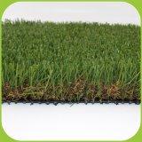 Пейзаж оформление синтетических искусственных травяных на местах для сада и дома