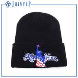 인쇄된 차가운 형식 극지 양털 베레모 모자