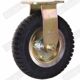 Heavey Aufgaben-pneumatischer Gummi-örtlich festgelegte Fußrolle (Chengshin) (GD4421)