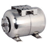 Tipo horizontal de tanque de pressão para a bomba de água