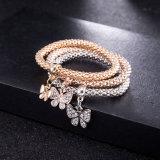 Monili multicolori del braccialetto delle donne della farfalla del diamante unico di Zircon