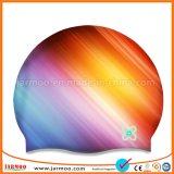 軽量の熱伝達の印刷のカスタムシリコーンの水泳帽