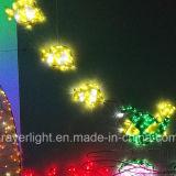Poissons LED Ocean Park Projet d'éclairage à LED Les lumières de Noël de plein air