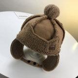 Kundenspezifische fördernde Schutzkappen-Form-Wollen wärmen Winter-Hut-Baby-Hut