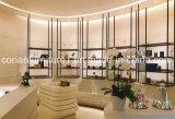 Mesa de dinheiro elegante do Shelving do indicador da mobília do indicador da loja da roupa