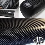 3D la pegatina de vinilo de fibra de carbono para coche Decoración de envoltura
