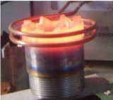 máquina que cubre con bronce de la inducción 45kw/30-80kHz de la Calentador-Calefacción de la soldadura de alta frecuencia de la máquina