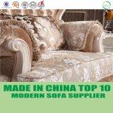 Jeu français de sofa de tissu de meubles de luxe de salle de séjour