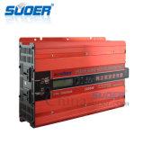 Suoer 24V 220V 3000 vatios de potencia de Onda senoidal pura inversor CC CA (FPC-D3000B)
