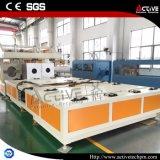 Machine/ligne automatiques d'extrudeuse de PVC de plastique
