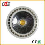 10W/15W/20W/30W/35W 1600LM COB Reflector PAR38 Diseño de iluminación LED Bombillas LED