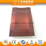 Extrusion thermique d'aluminium de guichet d'interruption de qualité