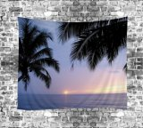 폴리에스테 Digital Psychedelic Printed Pretty Scenery Tapestry (01P0002)