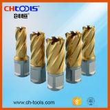 Morceau de foret universel de la partie lisse HSS de profondeur de découpage de Dnhc 25mm