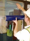 Pellicola protettiva del PE di superficie con concentrazione adesiva differente
