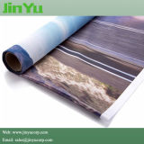UV ткань освещенная контржурным светом печатью