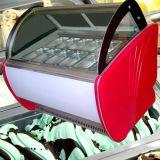 Crème glacée et de Popsicle congélateur d'affichage