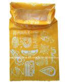 O produto do OEM da fábrica personalizou o Bandana Facemask de Microfiber do verde da cópia do projeto