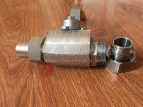 Bw soudure en acier inoxydable Union 3PCS Clapet à bille flottante