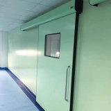 Porta hermética da segurança do metal da porta deslizante do hospital