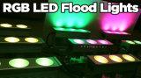 facciata della costruzione della rondella della parete di RGB degli indicatori luminosi di inondazione di 480watt LED