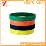 Braccialetto/Wristband variopinti su ordinazione del silicone per i regali di promozione