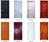 Heiße Verkaufs-Qualitäts-festes Holz-Tür mit Form-Entwurf (SW-819)