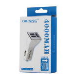 4A TRES USB Adaptador USB Car Charger Cargador de teléfono móvil