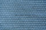 Tela de Chenille azul del llano del diseño de América (fth31826)