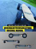 La fibre de carbone Longboard skate électrique du moteur de moyeu