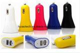 Isqueiro de carro móvel popular de alimentação do adaptador USB Carregador de Alimentação do Banco com porta USB duplo 4.8A para navegação GPS, DVR, telefone, câmera digital, Rastreador GPS,