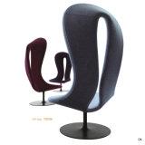 Freizeit-Form-Entwurfs-Flügel-Rückseiten-Stuhl mit Höhen-Rückseite