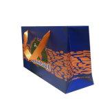 Promoción de logotipo personalizado barata de embalaje de la impresión de bolsas de papel personalizado