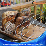 쉬운 청소 강철 BBQ 석쇠 식물성 늑골 선반
