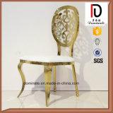 Стул подсвинка золота банкета уникально стула круглой задней части картины роскошный