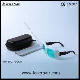 de veiligheidsbrillen van de Laser van 635nm, van 650nm, van 694nm & de Bril van de Veiligheid van de Laser voor Rode Lasers, Robijn van Laserpair